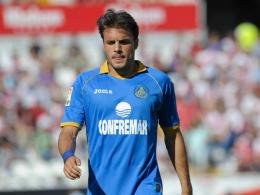 Darf für seinen Klub nicht auflaufen: Getafes Pedro Leon.