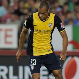 Bescherte Atletico drei Punkte - natürlich nach einer Ecke und per Kopf: Joao Miranda.
