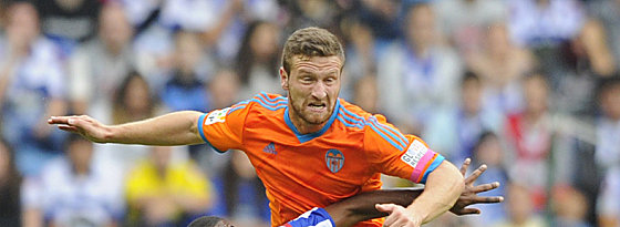 Konnte die Niederlage seines Teams nicht verhindern: Valencias Shkodran Mustafi.