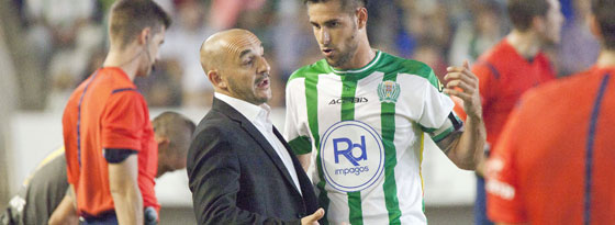 Sein letztes Spiel mit Cordoba: Albert Ferrer am Samstag beim 1:2 gegen Malaga.