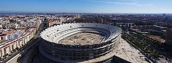 Soll bis 2019 fertiggestellt werden: das Nuevo Mestalla (Aufnahme aus dem Jahr 2010).