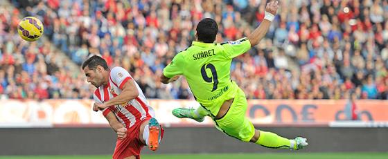 Seine Einwechslung gab den Ausschlag: Barcelonas Luis Suarez sorgte für die spielentscheidenden Momente.