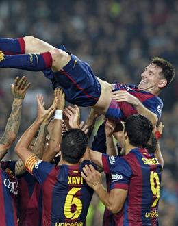 �berragt alle: Lionel Messi ist der beste Torj�ger der Primera Division - mit
