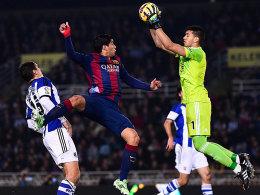 Suarez und Barça scheiterten vor allem an Rulli.