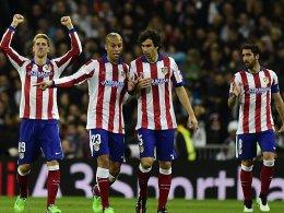 Rot-Weißer Jubel im Bernabeu: Atletico Madrid kegelte Real Madrid aus der Copa del Rey.