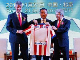 Der chinesische Milliardär Wang Jianlin hat sich bei Atletico 20 Prozent der Anteile gesichert.