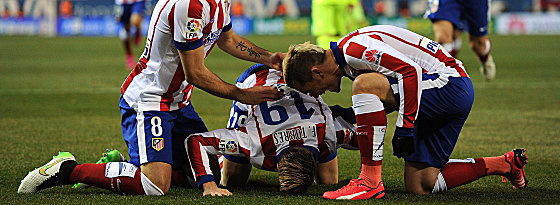 Fernando Torres, Antoine Griezmann (re.)