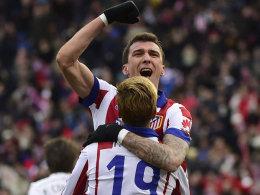 Mario Mandzukic und Fernando Torres