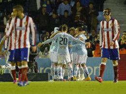 Jubelnde Galicier, bediente Madrilenen: Celta Vigo schlug ein schwaches Atletico verdient mit 2:0.