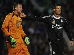 Przemyslaw Tyton und Cristiano Ronaldo