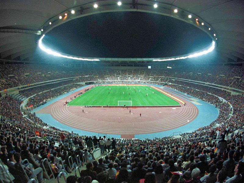 Selten genutzt: Sevillas Olympiastadion La Cartuja könnte das Finale beherbergen.