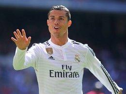 Fünf Tore gegen Granada: Cristiano Ronaldo hat gut lachen.