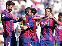 14 Tore in zwei Spielen: Der FC Barcelona zerlegte binnen wenigen Tagen den nächsten Gegner eindrucksvoll.