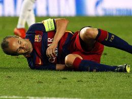 Bar�a muss vorerst auch auf Iniesta verzichten