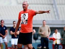 Johan Cruyff ist an Lungenkrebs erkrankt