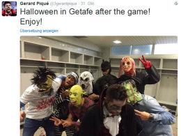 �rger nach Halloween-Scherz: Bar�a entschuldigt sich