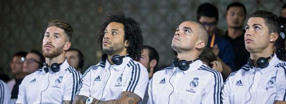 Und wie geht's weiter? Sergio Ramos, Marcelo, Pepe und Cristiano Ronaldo (v.li.) haben einen neuen Trainer zur Seite.