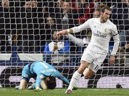 Er glänzte bei Zidanes Debüt: Gareth Bale.
