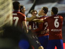 Atletico wieder Spitze - Dreierpack von Bale und Messi