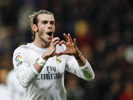 Wie lange hält die Liebe für Real? Gareth Bale hält nichts von Treueschwüren.