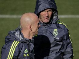 """Reals """"Schattenmann"""": Die Rolle des Zidane-Vertrauten David Bettoni sorgte für neuen Wirbel."""