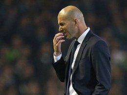 Das war nix: Zuletzt ließ Real um Trainer Zinedine Zidane bei Underdog Real Betis (1:1) überraschend Punkte liegen.