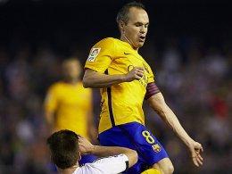 Im Schatten Neymars: Valencia fordert Bar�a im Pokal