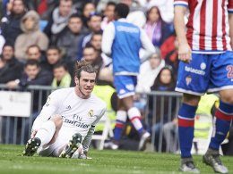 R�ckschlag: Bale droht l�nger auszufallen