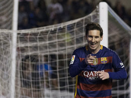 Geradewegs auf dem Weg zur Meisterschaft: Lionel Messi und der FC Barcelona.