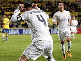 In aller Munde: Real-Kapitän Sergio Ramos trat als Torschütze und Rotsünder in Erscheinung.