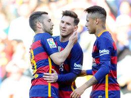 Galavorstellung: Der FC Barcelona zerlegte Getafe in seine Einzelteile.