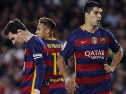 Krise total bei Bar�a - Atletico zieht nach Punkten gleich