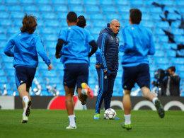 Zidanes Wolfsburg-Lehren - Bale im Insel-Fieber