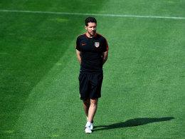Ballwurf: F�r Simeone ist die Saison beendet