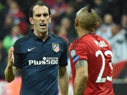 Godin gibt Vidal recht - Real ohne Bale und Navas