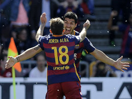 Suarez macht Bar�a zum Meister - Gijon rettet sich