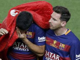 Oberschenkelverletzung: Uruguay bangt um Suarez
