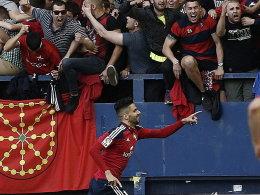 Osasuna ist zur�ck in La Liga