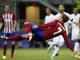Spektakel im Anflug: Antoine Griezmann bleibt Atletico erhalten.