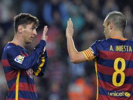 Türkei-Spiel: Messi und Iniesta reisten nicht an