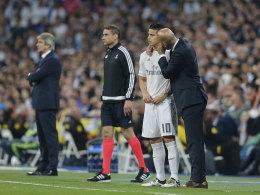 Zidanes historischer Auftrag - Streitfall James