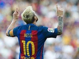 Suarez nennt Messi eine