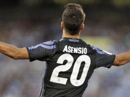 Asensio gibt den CR7 - Abschiedsspiel von James?