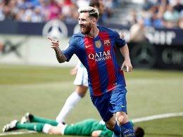 MSN und G&G furios: Barça und Atletico feiern Kantersiege