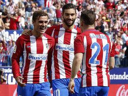 Torres-Doppelpack: Atletico schlägt Gijon 5:0