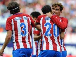 Griezmann rettet Atletico - Duo fehlt gegen Bayern