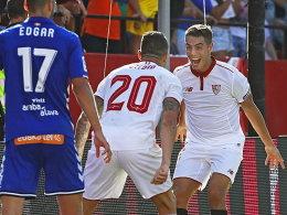Dank Ben Yedder: Sevilla bleibt an Real dran