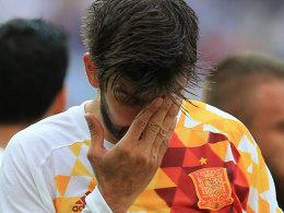 Spaniens Prügelknabe: Piqué zum fünften Mal am Pranger