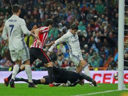Morata rettet Real - doch reklamierte Ronaldo Abseits?