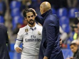 Real im kicker-Check: Zidanes Luxusproblem mit Isco